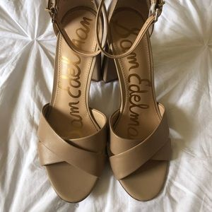 e91a34a6543 Sam Edelman Shoes - Sam Edelman - Yancy Crisscross Ankle Strap Sandal